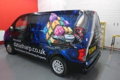 The first Datasharp van is ready