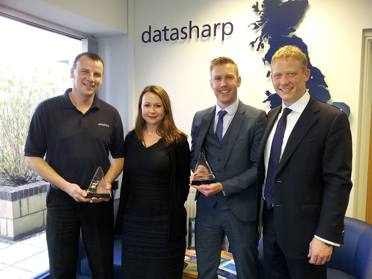Unify Reseller and sales person of the year awards 2014