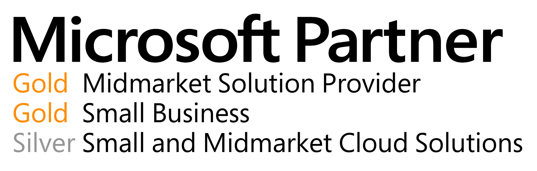 Microsoft Gold Partner January 2016